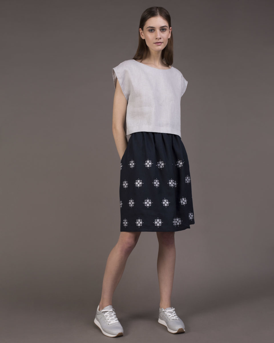 "Skirt ""Bloom"" mini"