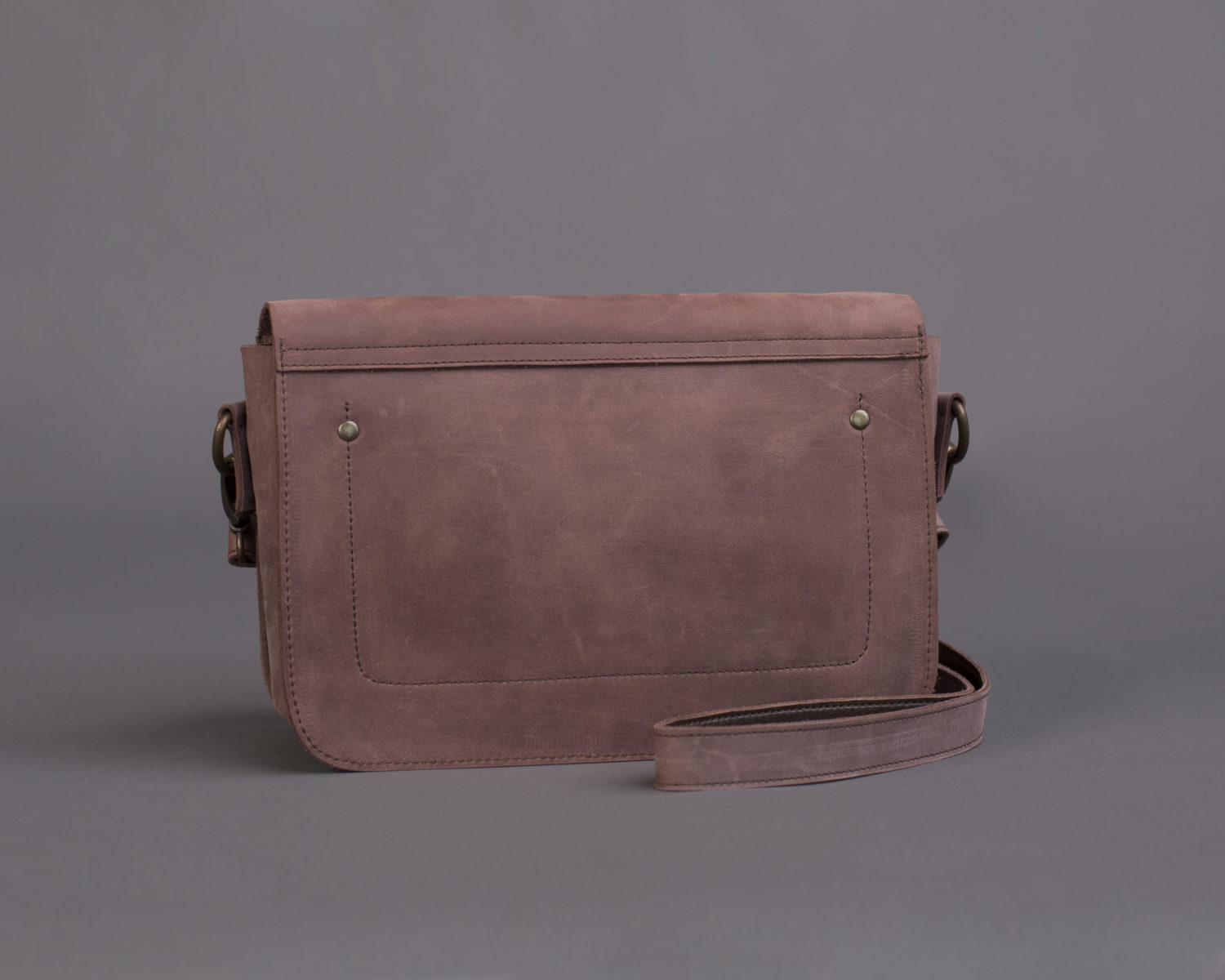 "Bag ""Geometry"" marsala"