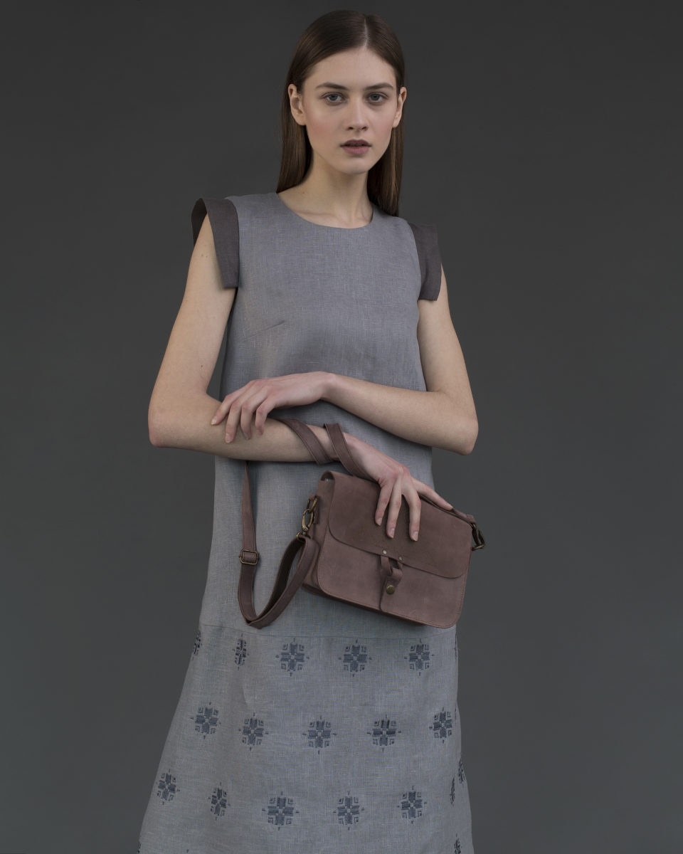"""Geometry "" bag Marsala"