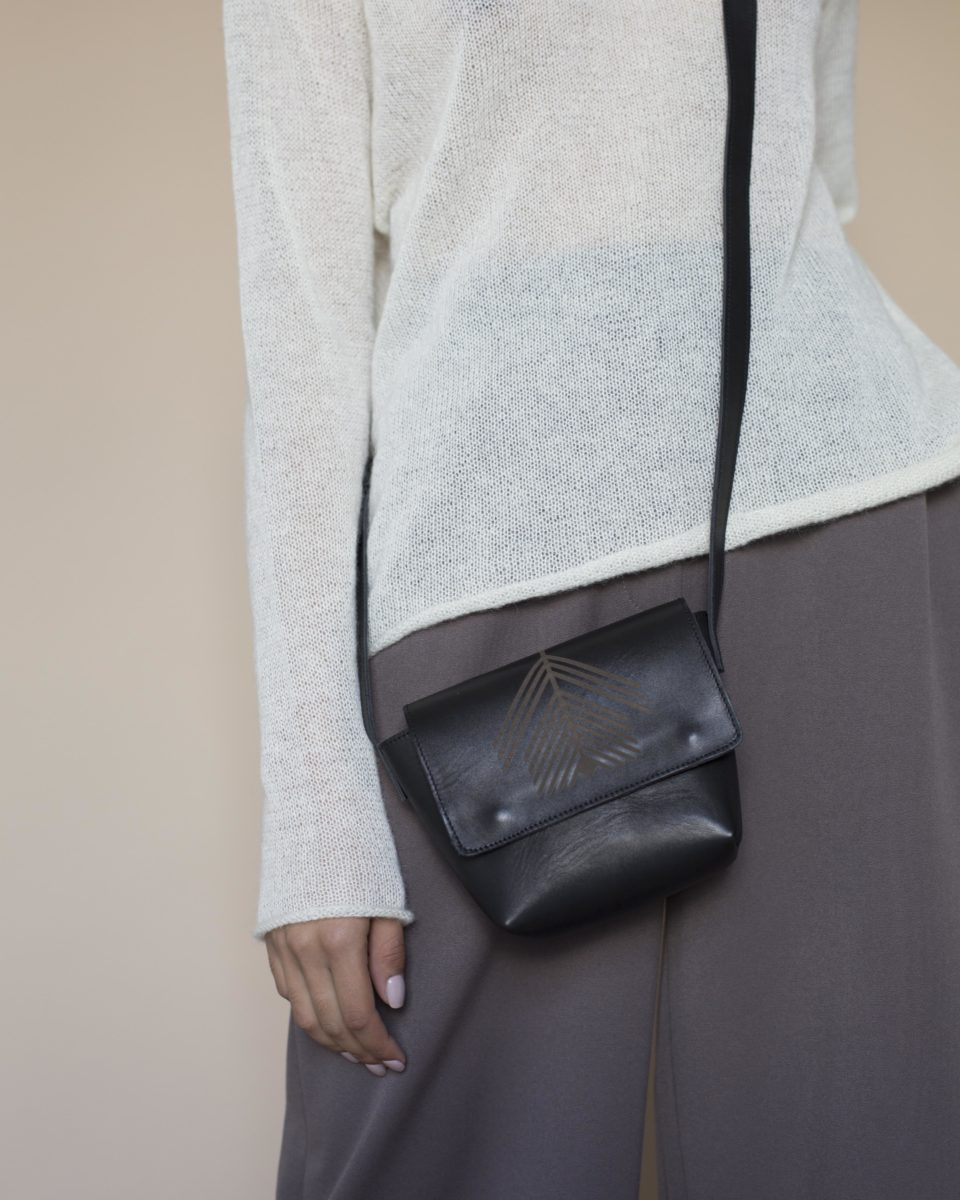 "Mini bag ""RYE"" black"