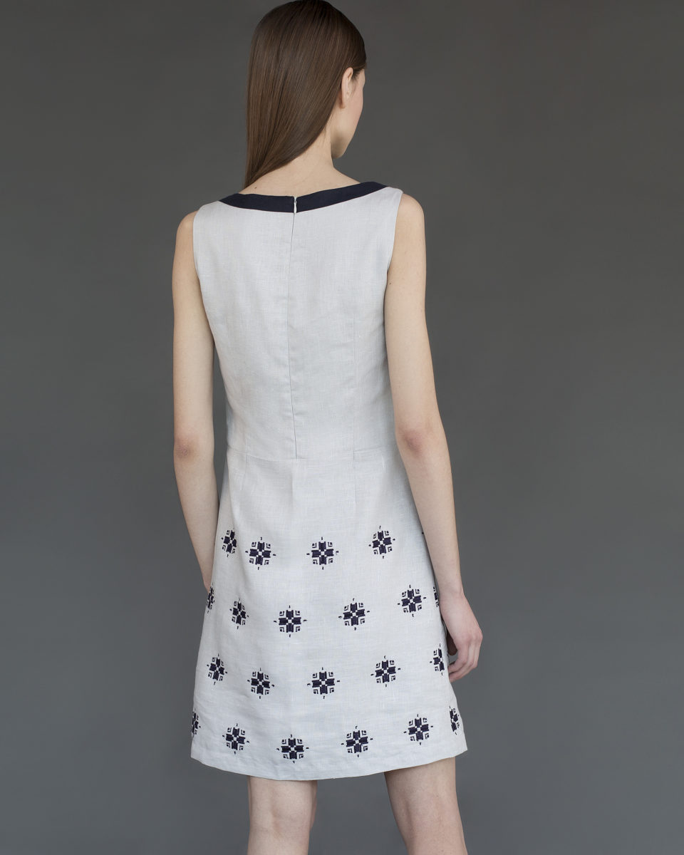 "Trapeze dress ""Bloom"""