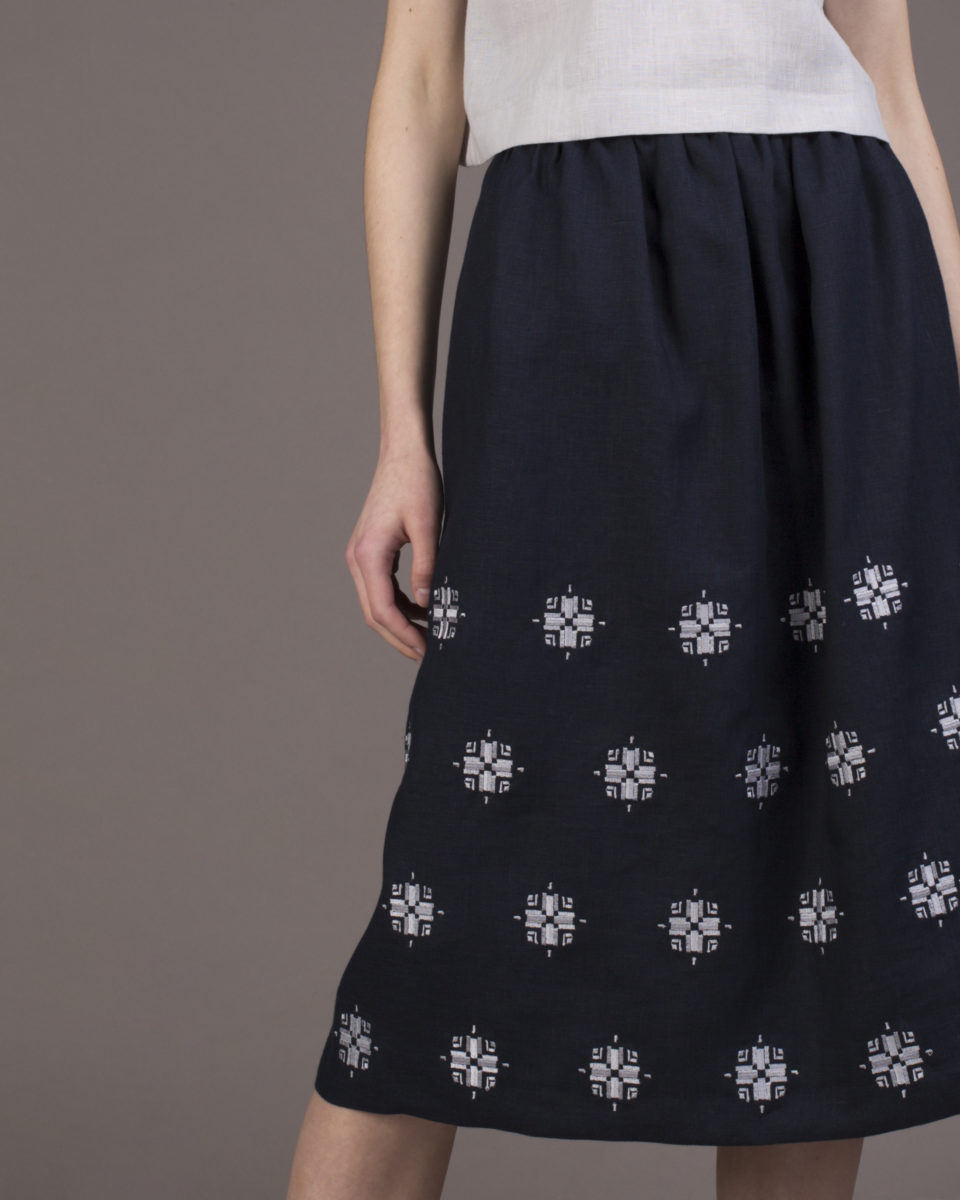 "Skirt ""Bloom"" midi"